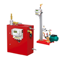ENA degassing and top-up automats