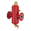 Microbubble air and dirt separators (DN 50 - 600)