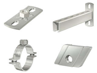 STAINLESS STEEL MOUNTING MATERIAL
