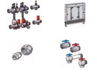 KELOX SURFACE HEATING SYSTEM MANIFOLDS