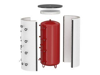 insulation water heaters and storage tanks