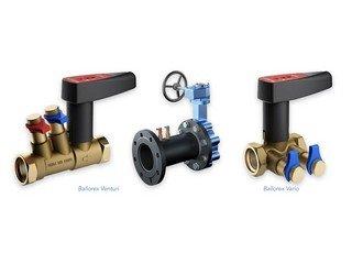 Ballorex balancing valves