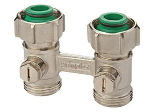 simplex radiator connection valve