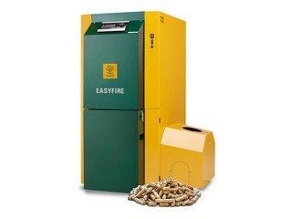 Pellet biomass boiler