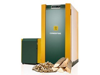 Log wood boiler combifire 1